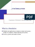 ESI4523 Simulation Notes