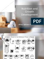 Nutrition and Growth Development