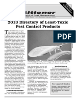 Directory of Least Toxic Pest Control Products; Gardening Guidebook