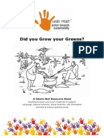Did you Grow your Greens - Teacher Handbook for School Gardening