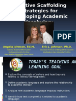 Ej_WABE 2014_Effective Scaffolding Strategies for Developing Academic Vocabulary_participants