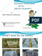 Cold Frame, Hoop House, Green House - What's Right for my Garden; Gardening Guidebook for Lewis County, Washington