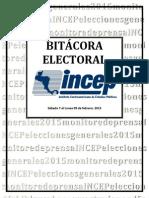 Bitácora Electoral 2015