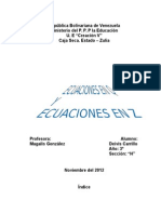 Trabajo de Ecuaciones en q y z