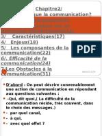 cours COMMUNICATION  INTRODUCTION + CHAPITRE 1