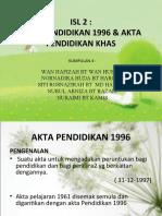Akta Pendidikan & Akta Pendidikan Khas