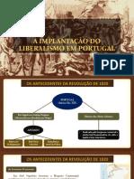 m5 - 03 - A Implantação Do Liberalismo Em Portugal