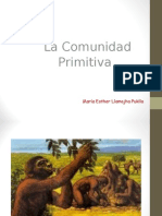 Clase 1 Comunidad Primitiva