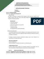 5.5 Especificaciones Tecnicas Instalaciones Mecanicas