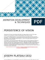 animation development & techniques powerpoint