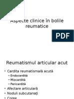 Aspecte Clinice În Bolile Reumatice