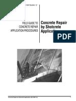 ACI- Shotcrte Para Reparación