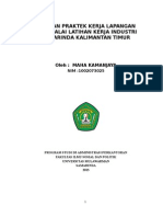 Cover, Kata Pengantar, Daftar ISI