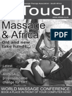 Massage in Africa -KhoeSan