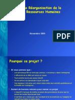 Presentation Reorganisation Drh.2
