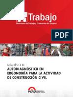 Autodiagnóstico en Ergonomía Para La Actividad de Construcción Civil Dic 2014