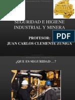 Curso Seguridad Higiene Industrial Minera
