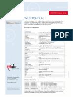 WL1000-IDU-E