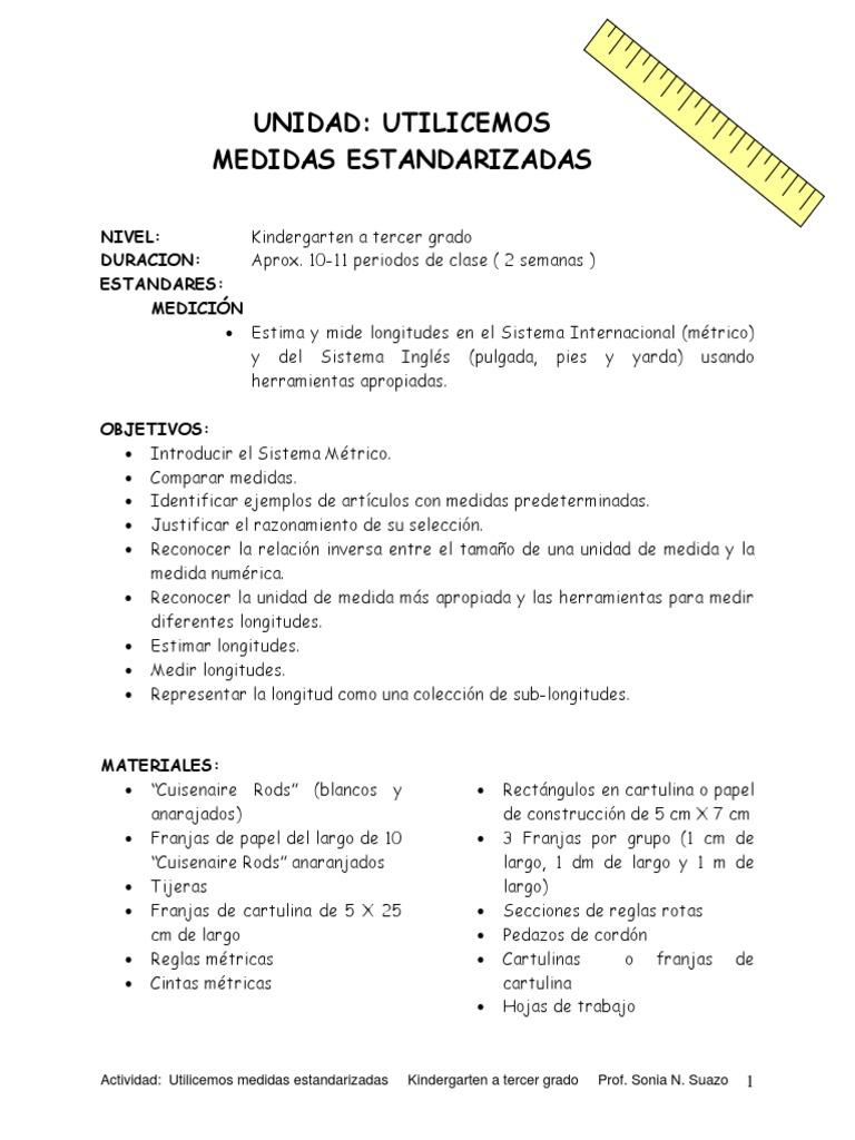 Increíble Hojas De Trabajo De Longitud De Medición Regalo - hojas ...