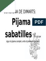 Consigna de Dimarts