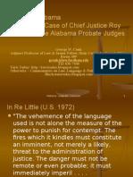 Judicial Contempt in Alabama