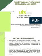 Arenas Bituminosas-plataformas Costa Afuera (Offshore)