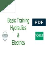 Basics Hydraulics and Electrics e