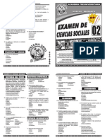 Examen 02 de Ciencias Sociales