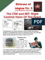 In Defence of Marxism No 8