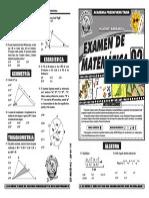 Examen de Matemática ciclo verano 2015