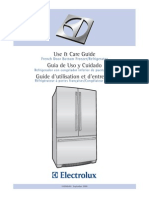 Electrolux Refridgerator Manual