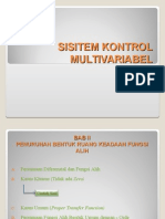 SIstem Kontrol Multivariabel - Canonical Controller