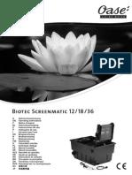 1sh1f Instructiuni de Utilizare Filtre Biotec 12-18-36 Screenmatic