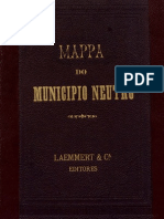 Mapa - Município Neutro - Sec. XIX