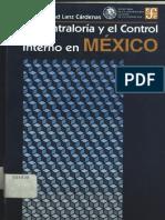 La Contraloria y El Control Interno en Mexico