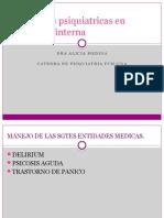 Urgencias Psiquiatricas en Medicina Interna
