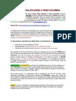 Pasos Para Afiliarse a Tiens Colombia