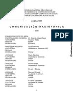 Comunicacion radiofonica