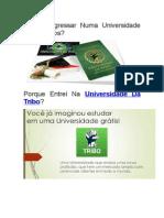 Porquê Ingressar Numa Universidade Aos 48 Anos