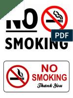 no smoking.docx