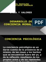 CONCIENCIA MORAL Y ETICA