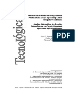Mathematical Model of Bridge-Linked  Photovoltaic Arrays Operating Under  Irregular Conditions