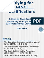 Application Step by Step Instructions Power Point Education Section