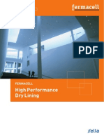 Fermacell Dry Lining Brochure