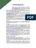 Condiciones Generales de Uso de La Web Www.accessshopping.webs.Com