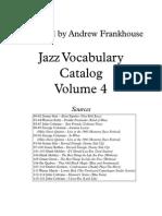 Vocab Catalog Published Vol 4