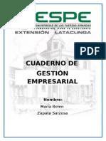 Cuaderno Gestion Empresarial
