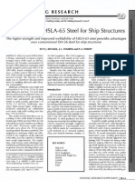 1998-Weldability of HSLA-65 Steel for Ship Structures