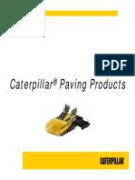 Paving Prodcuts General Presentation