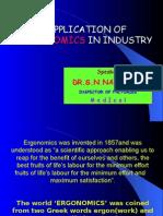 Application of Ergonomics in Industry
